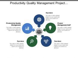 Productivity Quality Management Project Management Staff Plan Gap Analysis Cpb