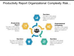 Productivity Report Organizational Complexity Risk Management Model Pricing Solutions Cpb