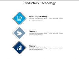 Productivity Technology Ppt Powerpoint Presentation Model Influencers Cpb