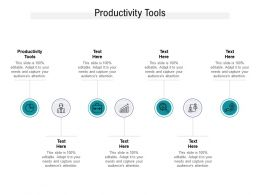 Productivity Tools Ppt Powerpoint Presentation Infographic Template Example Introduction Cpb