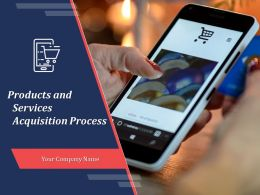 Products And Services Acquisition Process Powerpoint Presentation Slides