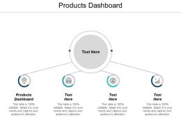 Products Dashboard Ppt Powerpoint Presentation Infographics Pictures Cpb