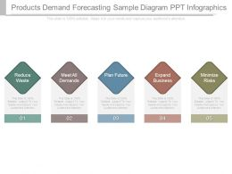 Products Demand Forecasting Sample Diagram Ppt Infographics