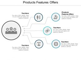 Products Features Offers Ppt Powerpoint Presentation Infographics Portfolio Cpb