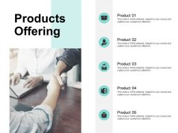 Products Offering Opportunity Ppt Powerpoint Presentation File Samples