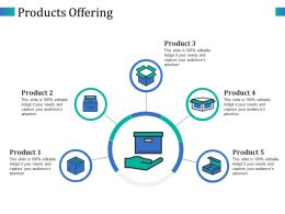 Products Offering Ppt Layouts Designs Download