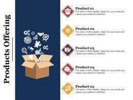 Products Offering Presentation Portfolio