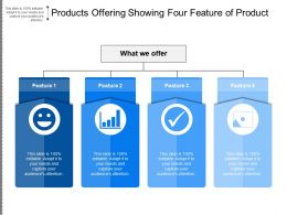 Products Offering Showing Four Feature Of Product
