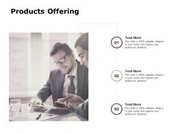 Products Offering Teamwork Communication Ppt Powerpoint Presentation Gallery Grid
