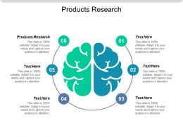 Products Research Ppt Powerpoint Presentation Icon Ideas Cpb