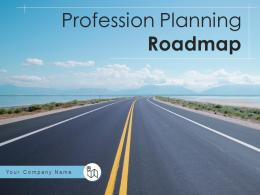 Profession Planning Roadmap Powerpoint Presentation Slides