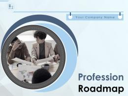 Profession Roadmap Powerpoint Presentation Slides