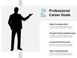 Professional Career Goals