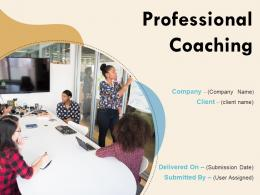 Professional Coaching Powerpoint Presentation Slides