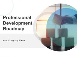 Professional Development Roadmap Powerpoint Presentation Slides