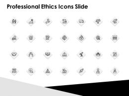 Professional Ethics Icons Slide Growth Strategy Ppt Powerpoint Slides