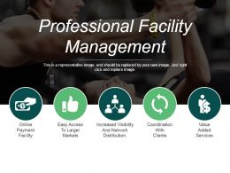 Professional Facility Management Ppt Infographics