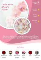 Professional Florist Two Page Brochure Template