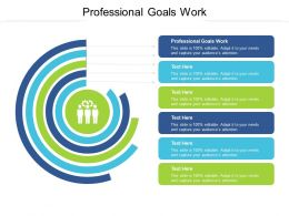 Professional Goals Work Ppt Powerpoint Presentation Slides Objects Cpb