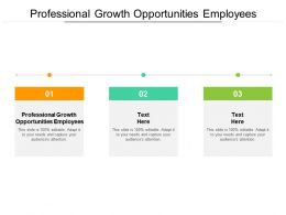 Professional Growth Opportunities Employees Ppt Styles Background Images Cpb