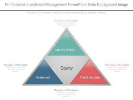 Professional Investment Management Powerpoint Slide Background Image
