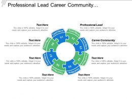 Professional Lead Career Community Management Expectation Education Levels