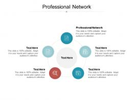 Professional Network Ppt Powerpoint Presentation Slides Influencers Cpb