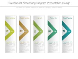 Professional Networking Diagram Presentation Design