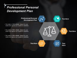 Professional Personal Development Plan Ppt Powerpoint Presentation Icon Background Cpb