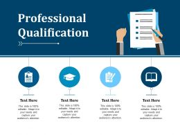 Professional Qualification Example Presentation About Yourself Ppt Designs Download