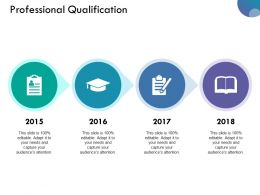 Professional Qualification Ppt Designs Download