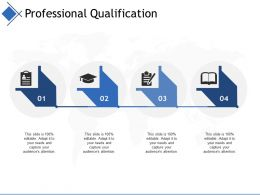 Professional Qualification Ppt Summary Guide