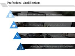 Professional Qualifications