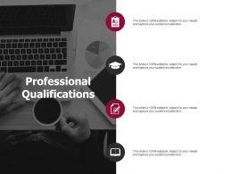 Professional Qualifications Checklist Agenda Ppt Powerpoint Presentation Infographics Good
