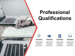 Professional Qualifications Education Ppt Powerpoint Presentation Styles Show