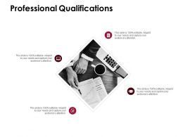 Professional Qualifications Opportunities D227 Ppt Powerpoint Presentation Infographic Template Example