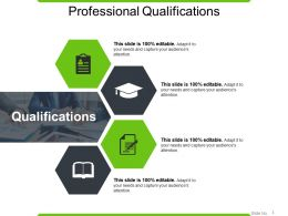 Professional Qualifications Powerpoint Slide Influencers