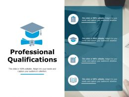 Professional Qualifications Ppt Powerpoint Presentation Pictures Professional