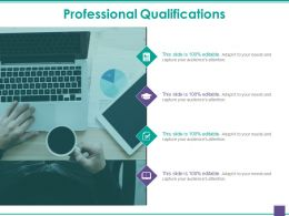 Professional Qualifications Ppt Samples Download