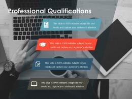 Professional Qualifications Ppt Show