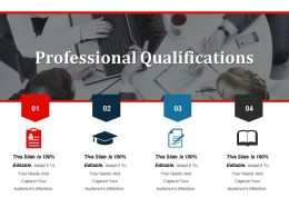 Professional Qualifications Presentation Visual Aids