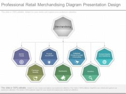 Professional Retail Merchandising Diagram Presentation Design