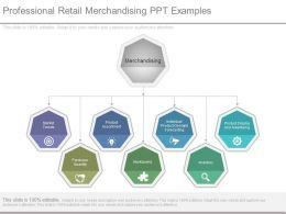 Professional Retail Merchandising Ppt Examples
