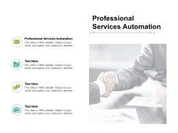 Professional Services Automation Ppt Powerpoint Presentation Portfolio Design Ideas Cpb