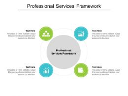 Professional Services Framework Ppt Powerpoint Presentation Infographic Template Deck Cpb