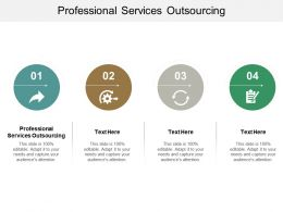 Professional Services Outsourcing Ppt Powerpoint Presentation Gallery Infographics Cpb