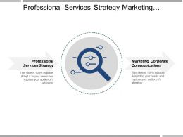 Professional Services Strategy Marketing Corporate Communications Business Insights Cpb