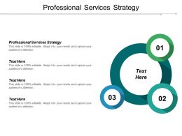 Professional Services Strategy Ppt Powerpoint Presentation Pictures Influencers Cpb