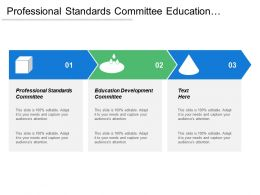 Professional Standards Committee Education Development Committee Collaboration Promotion