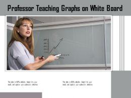 Professor Teaching Graphs On White Board